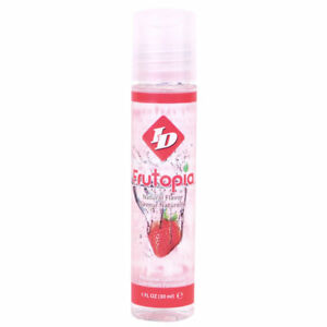 Frutopia ID Lubricant Vegan Fruit Lube Natural Flavour 30ml Safe Sex Toy Strawbe