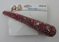 g red bead BEADED HAIR CLIP mary kate ashley claire's accessory