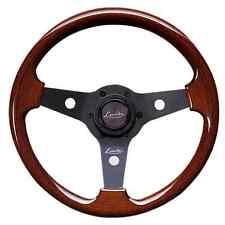 Classic Sport Volante de Madera Vintage 310mm Luisi Negro Imola Caoba Nardi