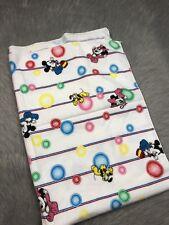 Vintage Disney Babies Mickey Minnie Pluto Bubble Receiving Blanket