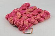 New listing 4 skeins of 100% superwash wool aran weight peach pink color