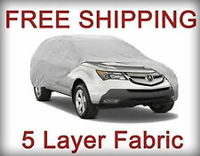 5 LAYER will fit INFINITI QX4 1997 1998 1999 2000 2001 SUV CAR COVER