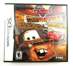 Cars: Mater-National Championship (Nintendo DS, 2007) Complete