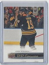 2014-15 CODY HODGSON UPPER DECK CANVAS PARALLEL #C-12 ~ SABRES