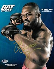 Jon Jones Signed 8.5x11 Photo BAS Beckett COA UFC Promo Picture Autograph 165 94