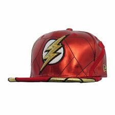 Flash Justice League Armor All Over 59Fifty Fitted Hat Cap New Era Ltd Ed 7 1/8
