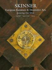 Skinner European Furniture Antiques & Fine Silver Auction Catalog 2009