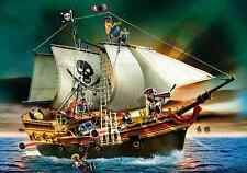 PLAYMOBIL #5135 PIRATES SHIP BRAND NEW FLOATS ON WATER!