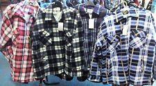 Completo de piel de lana acolchado shirt/jacket cremallera 3xl Térmico caliente del invierno Wear