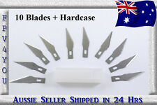 10 Steel Blades replacement for X-blade also fits X-ACTO HIGH QUALITY hobbyknife