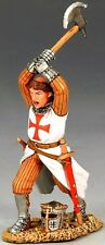 KING & COUNTRY MEDIEVAL KNIGHTS & SARACENS MK068 FIGHTING PRIEST WITH AXE MIB