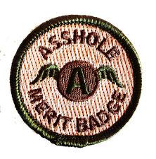 OD Green Multicam a-hole Merit Badge Tactical Morale Patch