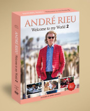 Andre Rieu - Welcome To My World 2  New 3DVD - Released 26/07/2019