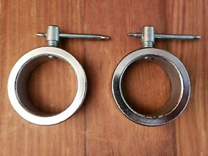 New OLYMPIC BARBELL SCREW SPEED COLLARS Pair ez - curl New