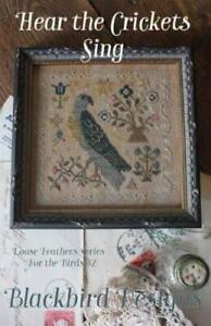 Hear the Crickets Sing by Blackbird cross stitch pattern
