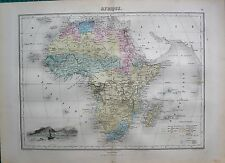 1883 ANTIQUE MAP- AFRICA