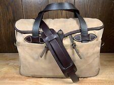 Filson Restoration Department Original Briefcase Bag 256 - Talon Zippers!