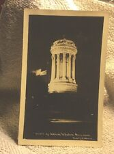 """Real Photo Postcard - """"Soldier's and Sailor's Monument"""""""