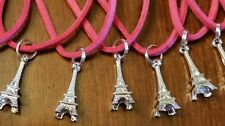Lot of 10 necklaces ♡Birthday Party Favors ♡ PARIS FRANCE EIFFEL TOWER PENDANTS*