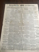 Chief Joseph Surrenders Nez Perc Indian Front Page report Rare 1877  Newspaper