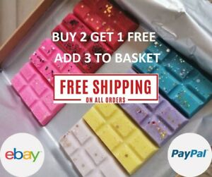 HIGHLY SCENTED WAX MELTS FOR OIL BURNER -  MASSIVE SALE - free post