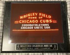 Wrigley Field Congratulates 2005 World Series Chicago White Sox