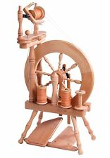 Ashford Traveller Double Treadle Double Drive Spinning Wheel Natural TVDTD