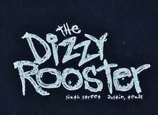 T-SHIRT M MEDIUM THE DIZZY ROOSTER SIXTH STREET AUSTIN TEXAS CLUCK YOU SHIRT