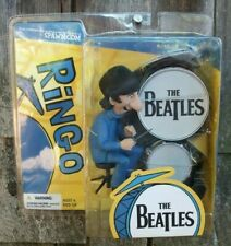 McFarlane Toys Beatles Action Figure RINGO with Drums Cartoon Series 2004 NIP