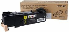 New Genuine XEROX Phaser 6500 Workcentre 6505 Printer Yellow HY Toner 106R01597