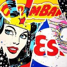 """Oeuvre Pop Art sur toile imprimée en tirage numéroté """"Yummy"""" par Jisbar"""