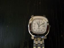 Croton Men's Stainless Steel Rectangle Dial Quartz Watch - Works Great