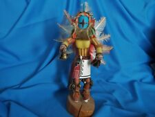 """Vintage 1950's? Hopi Hand Carved 13.5"""" CHASING STAR Kachina Doll by J.Clusdilly?"""
