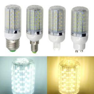 E27/E14/G9/GU10 LED Light Corn Bulb 120 3014  Lamp AC/DC24V/AC85-265V #ST