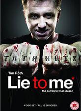 LIE TO ME - SEASON 3 - DVD - REGION 2 UK