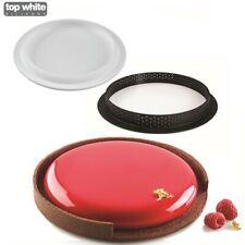 Silikomart Trousse tarte Ring Moule 3d en Silicone pour Four et parfaits