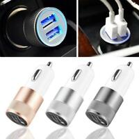 2-Port Dual USB 5V 2.1A Car Charger Adapter Fast Charging for Phone Universal