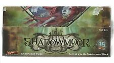 Magic the Gathering MTG Shadowmoor Tournament Deck (Pack) Sealed 12 Deck Box