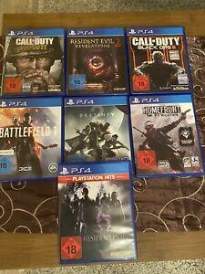 PlayStation 4 Spiele.