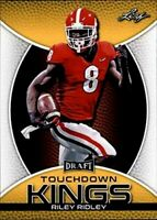 Riley Ridley 2019 Hoja Touchdown Kings Oro Carta Rookie! Bulldogs / Chicago