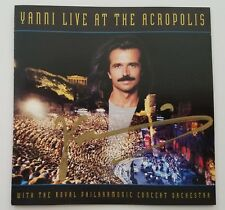 Yanny Signed Live At The Acropolis CD Booklet Keyboardist Pianist LEGEND RAD