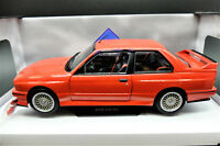MODELLINI AUTO SCALA 1/18 BMW E30 M3 DIECAST CAR MODEL SOLIDO NUOVI METALLO NEW