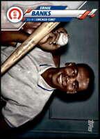 Ernie Banks 2020 Topps Short Print Variations 5x7 #253 /49 Cubs