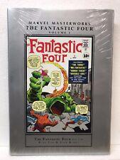 Marvel Masterworks Fantastic Four Vol 1 #1-10 - Hardcover Hc - New - Msrp $50