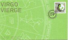 Canada SC # 2454- Signs Of Zodiac - Virgo FDC . Lowe-Martin Cachet