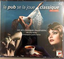 Compilation 3xCD La Pub Se La Joue Classique - France (EX/EX+)