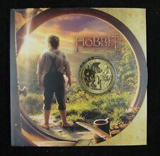 NEW ZEALAND 1 DOLLAR COIN 2012 UNC, THE HOBBIT, AN UNEXPECTED JOURNEY