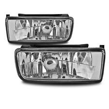 2x Fog Lights Clear Glass Incl. Bulbs H1 Left+Right for BMW E36 (all)