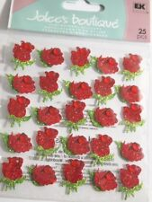 Jolee's Boutique Red Scrapbooking Stickers