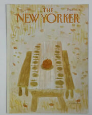 COVER ONLY ~ The New Yorker Magazine, December 1, 1980 ~ James Stevenson